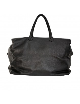 Travel Bag Calf Alce Embossed