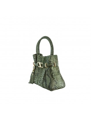 Fortunato Tulip Python Leather